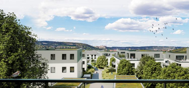 Wohnungsbau Würzburg Heidingsfeld / Katzenbergterassen